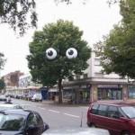 глаза страха
